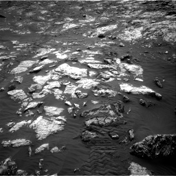 Nasa's Mars rover Curiosity acquired this image using its Right Navigation Camera on Sol 2802, at drive 276, site number 81