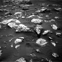 Nasa's Mars rover Curiosity acquired this image using its Right Navigation Camera on Sol 2802, at drive 330, site number 81