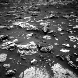 Nasa's Mars rover Curiosity acquired this image using its Right Navigation Camera on Sol 2802, at drive 342, site number 81