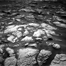 Nasa's Mars rover Curiosity acquired this image using its Right Navigation Camera on Sol 2802, at drive 360, site number 81