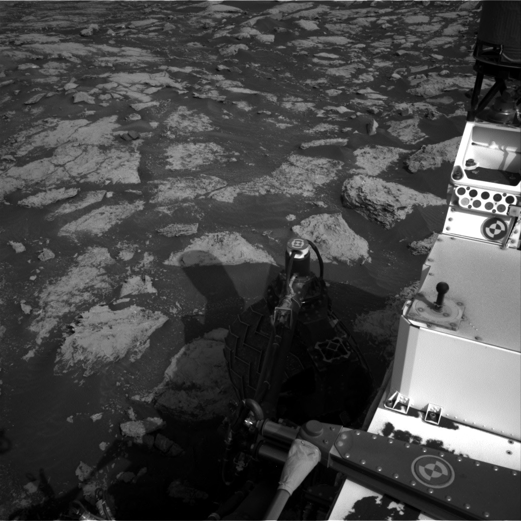 Nasa's Mars rover Curiosity acquired this image using its Right Navigation Camera on Sol 2802, at drive 372, site number 81