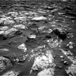 Nasa's Mars rover Curiosity acquired this image using its Right Navigation Camera on Sol 2802, at drive 408, site number 81