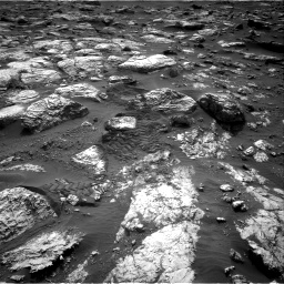 Nasa's Mars rover Curiosity acquired this image using its Right Navigation Camera on Sol 2802, at drive 414, site number 81