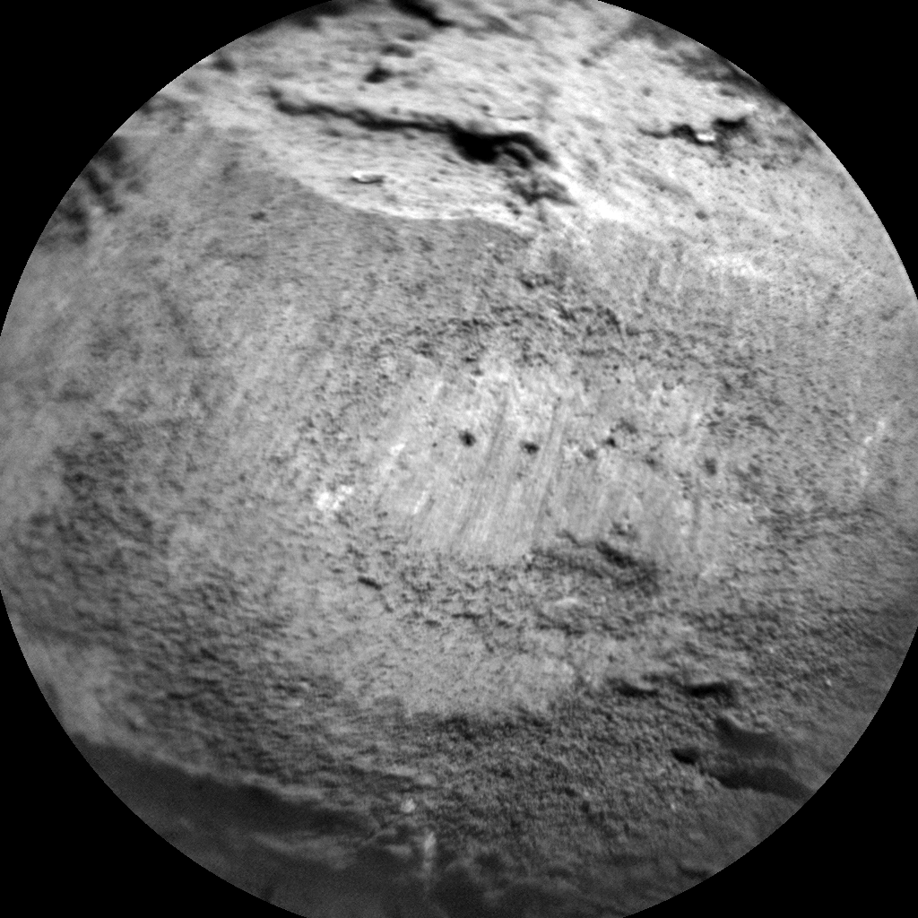 Nasa's Mars rover Curiosity acquired this image using its Chemistry & Camera (ChemCam) on Sol 2802, at drive 0, site number 81
