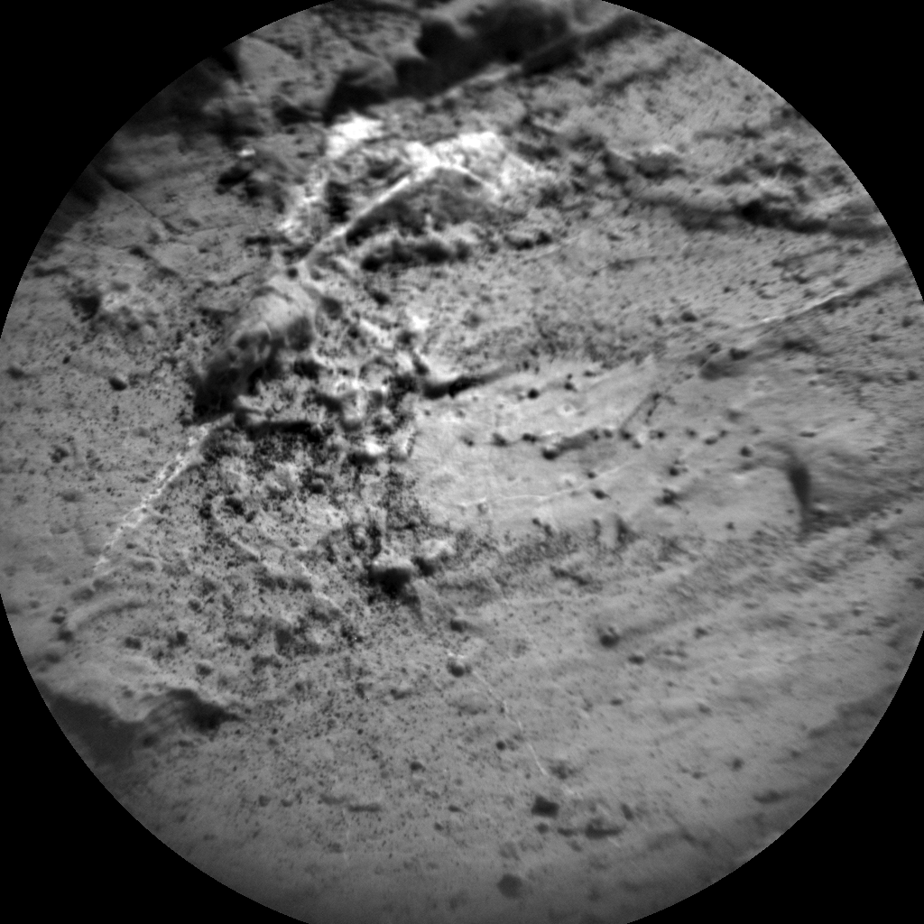 Nasa's Mars rover Curiosity acquired this image using its Chemistry & Camera (ChemCam) on Sol 2803, at drive 424, site number 81
