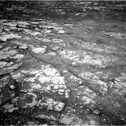 Nasa's Mars rover Curiosity acquired this image using its Left Navigation Camera on Sol 2804, at drive 466, site number 81