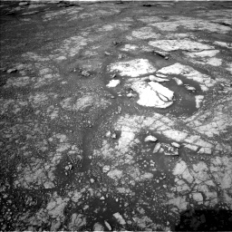 Nasa's Mars rover Curiosity acquired this image using its Left Navigation Camera on Sol 2804, at drive 568, site number 81