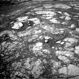 Nasa's Mars rover Curiosity acquired this image using its Left Navigation Camera on Sol 2804, at drive 598, site number 81