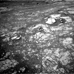 Nasa's Mars rover Curiosity acquired this image using its Left Navigation Camera on Sol 2804, at drive 604, site number 81