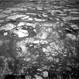 Nasa's Mars rover Curiosity acquired this image using its Right Navigation Camera on Sol 2804, at drive 526, site number 81