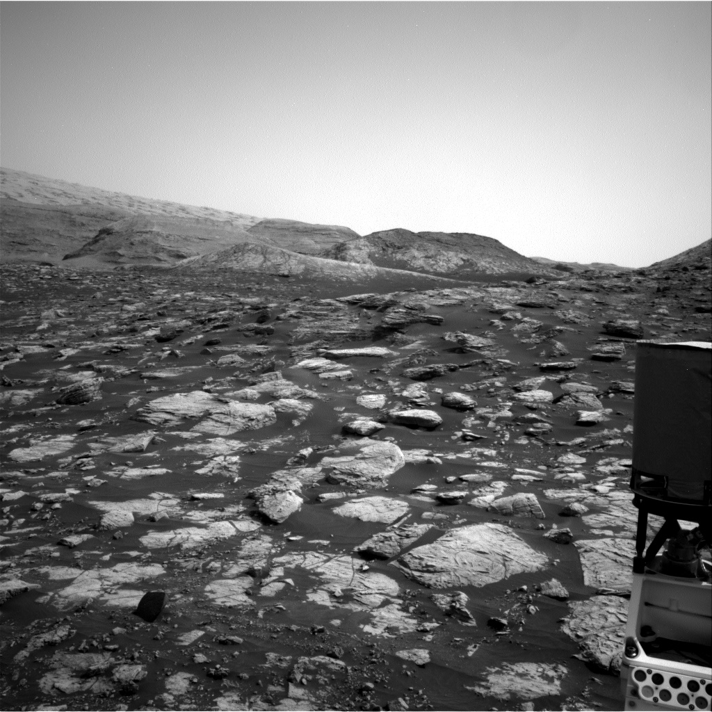 Nasa's Mars rover Curiosity acquired this image using its Right Navigation Camera on Sol 2804, at drive 532, site number 81