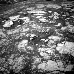 Nasa's Mars rover Curiosity acquired this image using its Right Navigation Camera on Sol 2804, at drive 598, site number 81