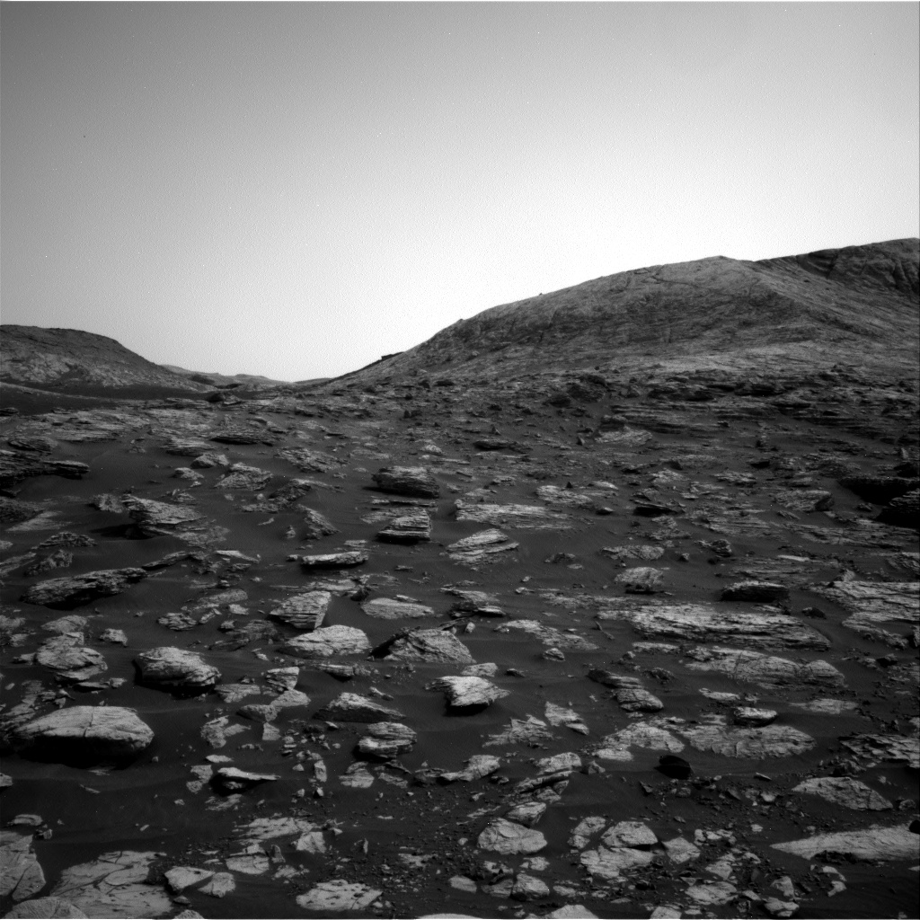 Nasa's Mars rover Curiosity acquired this image using its Right Navigation Camera on Sol 2804, at drive 628, site number 81