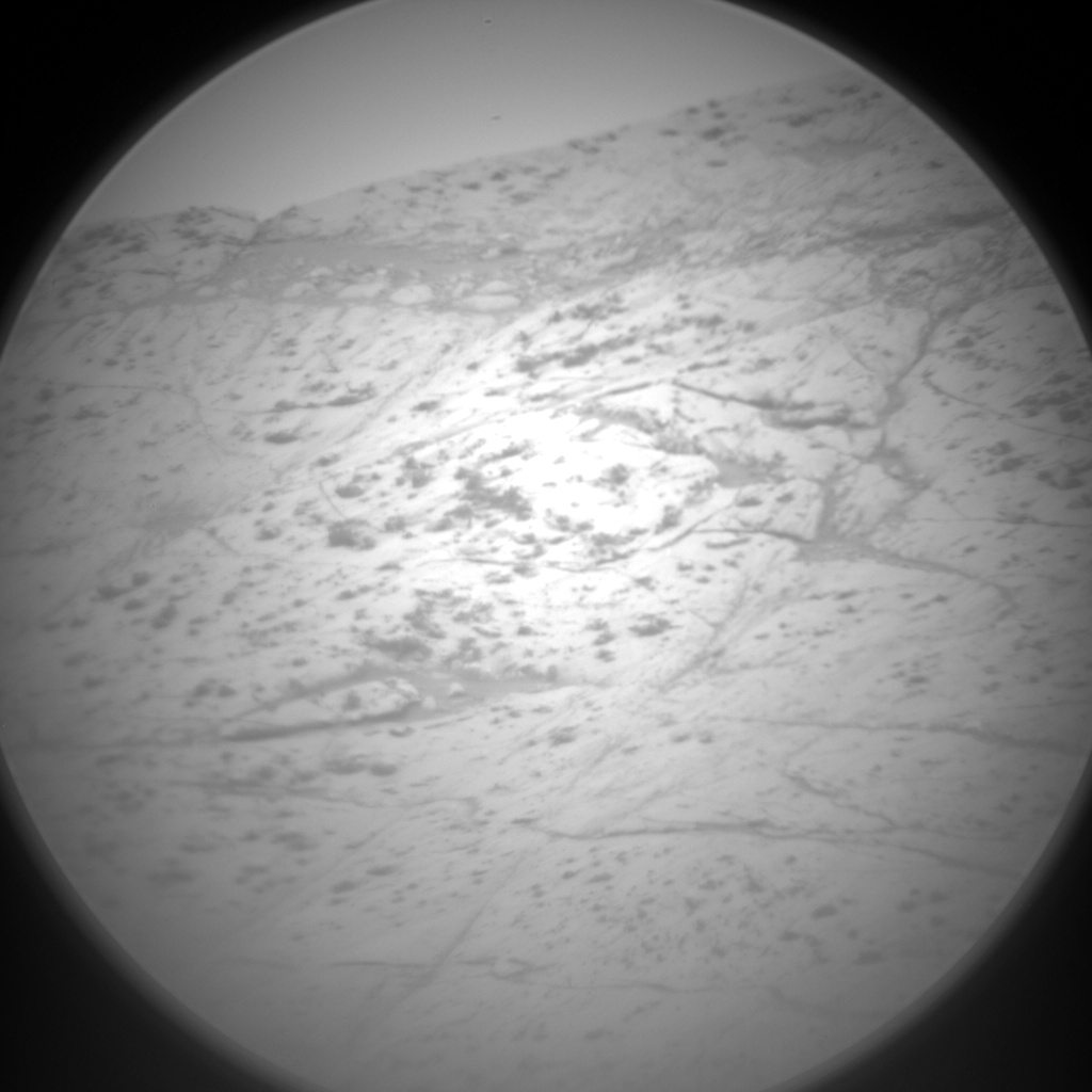 Nasa's Mars rover Curiosity acquired this image using its Chemistry & Camera (ChemCam) on Sol 2811, at drive 628, site number 81