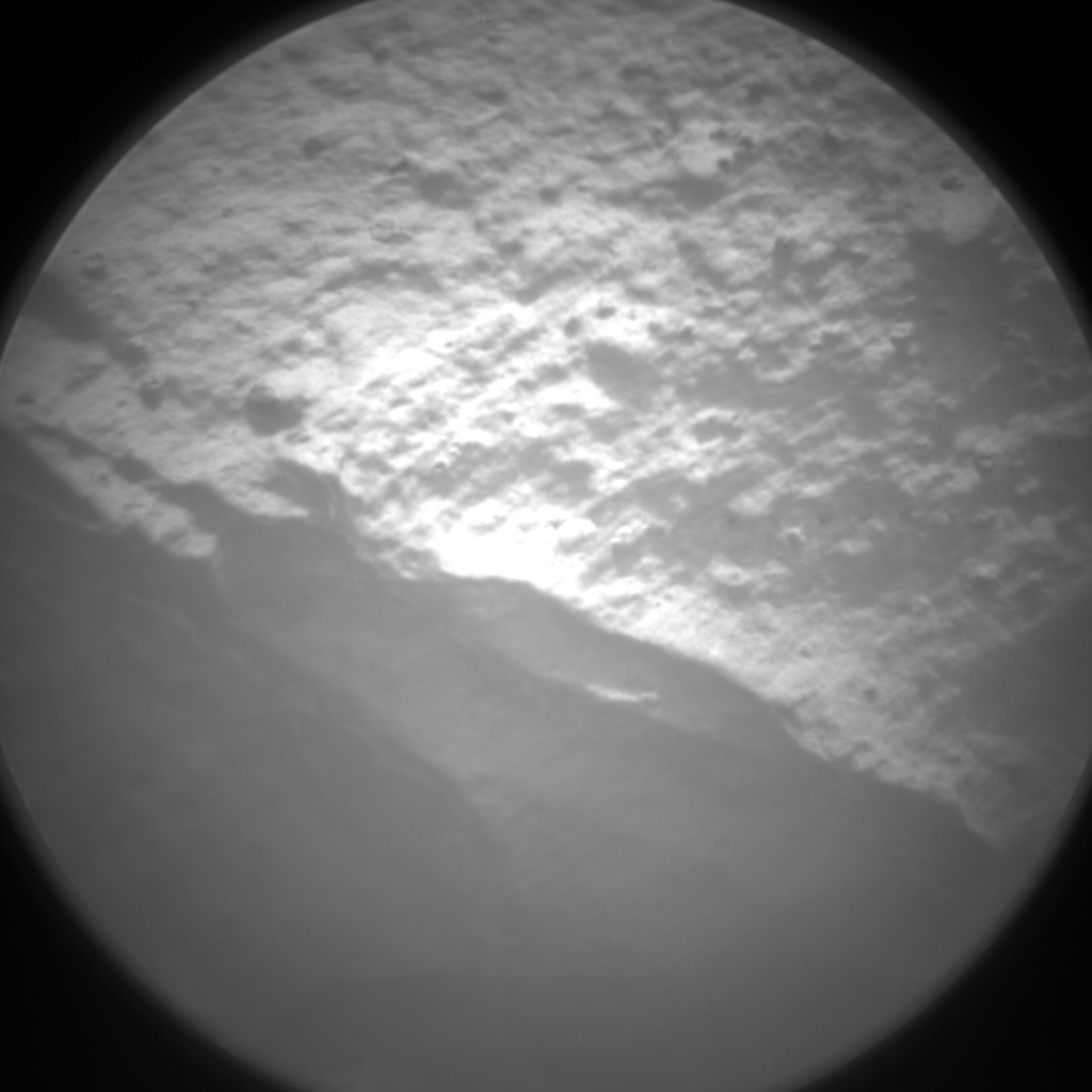 Nasa's Mars rover Curiosity acquired this image using its Chemistry & Camera (ChemCam) on Sol 2812, at drive 628, site number 81