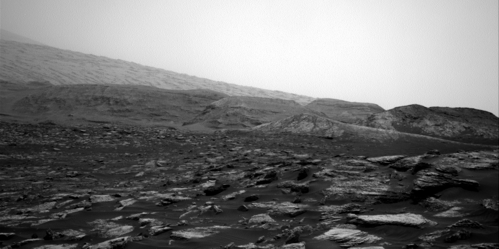 Nasa's Mars rover Curiosity acquired this image using its Right Navigation Camera on Sol 2812, at drive 628, site number 81