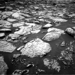 Nasa's Mars rover Curiosity acquired this image using its Left Navigation Camera on Sol 2813, at drive 664, site number 81