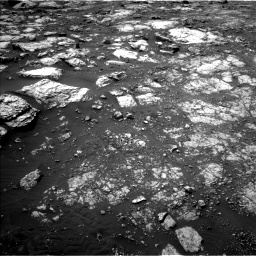 Nasa's Mars rover Curiosity acquired this image using its Left Navigation Camera on Sol 2813, at drive 682, site number 81