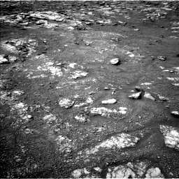 Nasa's Mars rover Curiosity acquired this image using its Left Navigation Camera on Sol 2813, at drive 748, site number 81