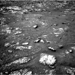 Nasa's Mars rover Curiosity acquired this image using its Left Navigation Camera on Sol 2813, at drive 754, site number 81