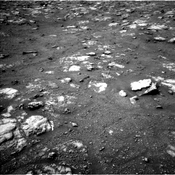 Nasa's Mars rover Curiosity acquired this image using its Left Navigation Camera on Sol 2813, at drive 778, site number 81