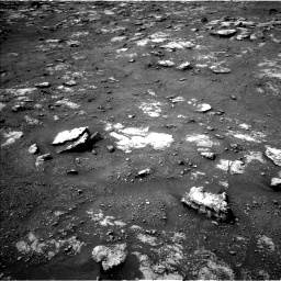 Nasa's Mars rover Curiosity acquired this image using its Left Navigation Camera on Sol 2813, at drive 790, site number 81