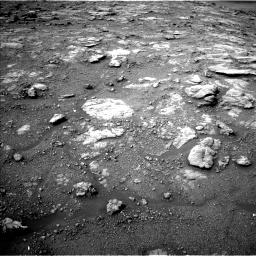 Nasa's Mars rover Curiosity acquired this image using its Left Navigation Camera on Sol 2813, at drive 874, site number 81