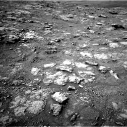 Nasa's Mars rover Curiosity acquired this image using its Left Navigation Camera on Sol 2813, at drive 904, site number 81