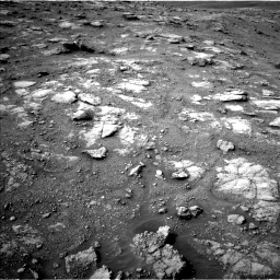 Nasa's Mars rover Curiosity acquired this image using its Left Navigation Camera on Sol 2813, at drive 928, site number 81