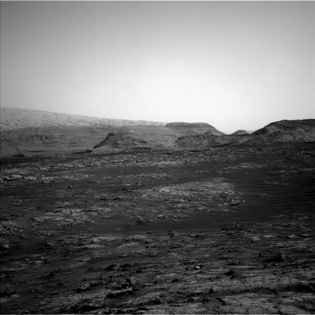 Nasa's Mars rover Curiosity acquired this image using its Left Navigation Camera on Sol 2813, at drive 0, site number 82