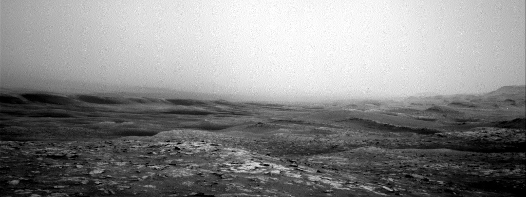 Nasa's Mars rover Curiosity acquired this image using its Right Navigation Camera on Sol 2813, at drive 628, site number 81