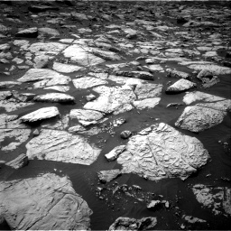 Nasa's Mars rover Curiosity acquired this image using its Right Navigation Camera on Sol 2813, at drive 658, site number 81