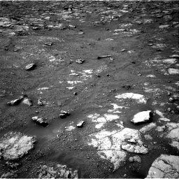Nasa's Mars rover Curiosity acquired this image using its Right Navigation Camera on Sol 2813, at drive 760, site number 81