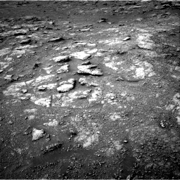Nasa's Mars rover Curiosity acquired this image using its Right Navigation Camera on Sol 2813, at drive 832, site number 81