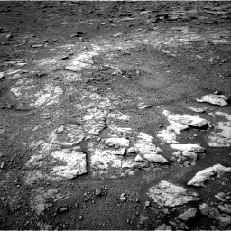 Nasa's Mars rover Curiosity acquired this image using its Right Navigation Camera on Sol 2813, at drive 844, site number 81