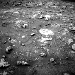 Nasa's Mars rover Curiosity acquired this image using its Right Navigation Camera on Sol 2813, at drive 868, site number 81