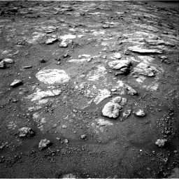 Nasa's Mars rover Curiosity acquired this image using its Right Navigation Camera on Sol 2813, at drive 874, site number 81