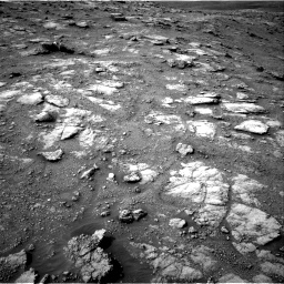 Nasa's Mars rover Curiosity acquired this image using its Right Navigation Camera on Sol 2813, at drive 934, site number 81