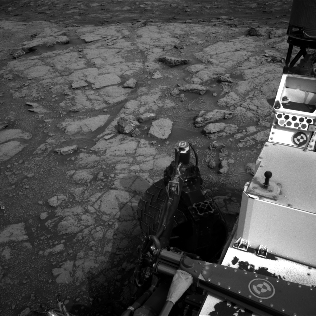 Nasa's Mars rover Curiosity acquired this image using its Right Navigation Camera on Sol 2813, at drive 940, site number 81