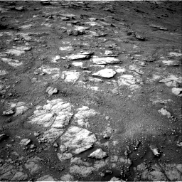 Nasa's Mars rover Curiosity acquired this image using its Right Navigation Camera on Sol 2813, at drive 952, site number 81