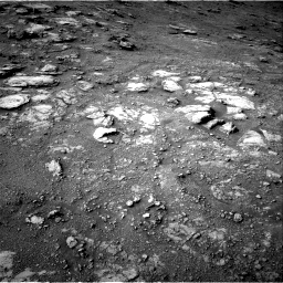 Nasa's Mars rover Curiosity acquired this image using its Right Navigation Camera on Sol 2813, at drive 964, site number 81