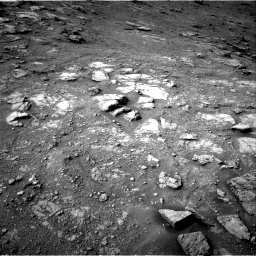 Nasa's Mars rover Curiosity acquired this image using its Right Navigation Camera on Sol 2813, at drive 970, site number 81