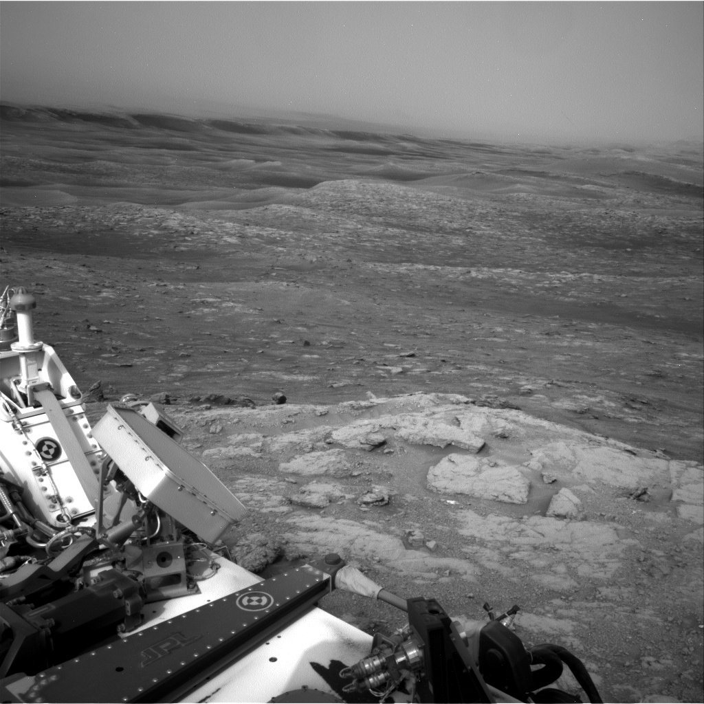 Nasa's Mars rover Curiosity acquired this image using its Right Navigation Camera on Sol 2813, at drive 0, site number 82