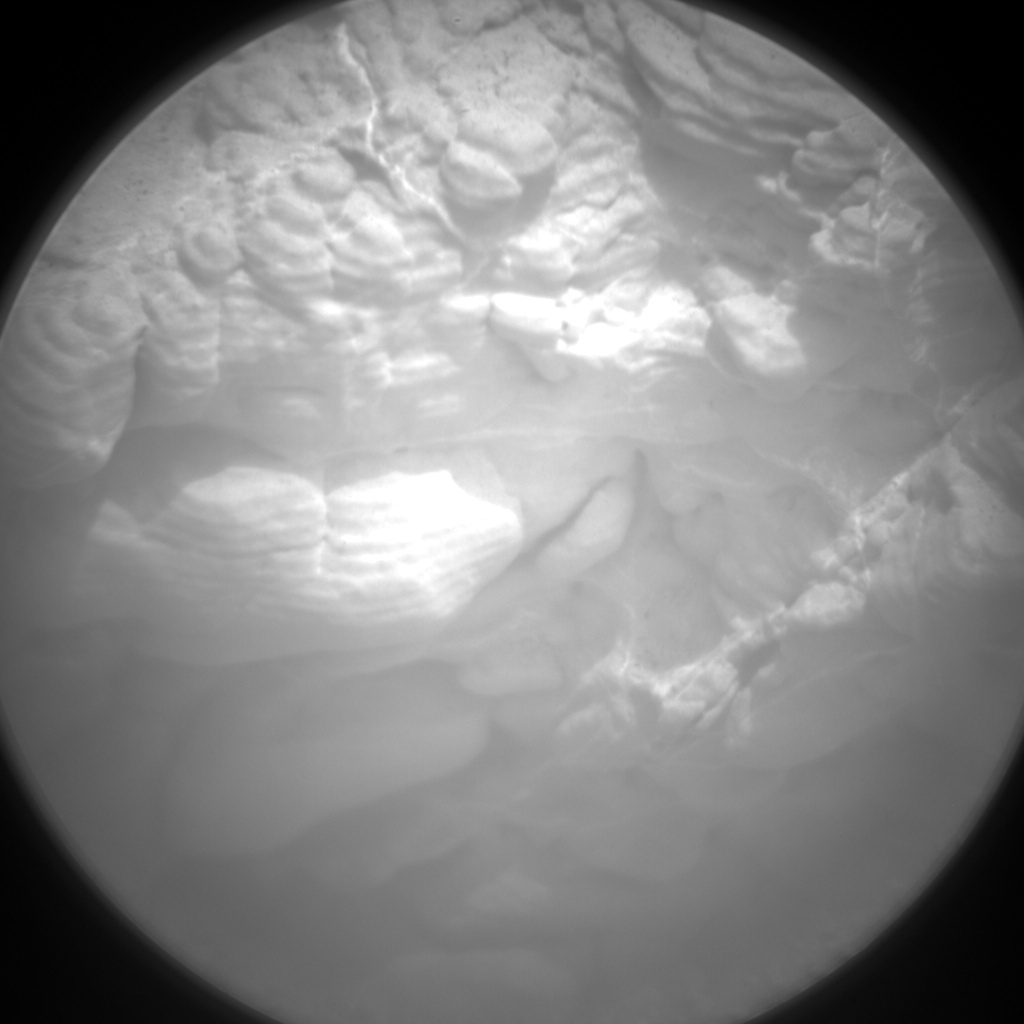 Nasa's Mars rover Curiosity acquired this image using its Chemistry & Camera (ChemCam) on Sol 2816, at drive 0, site number 82