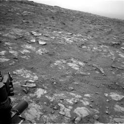 Nasa's Mars rover Curiosity acquired this image using its Left Navigation Camera on Sol 2816, at drive 96, site number 82