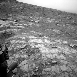 Nasa's Mars rover Curiosity acquired this image using its Left Navigation Camera on Sol 2816, at drive 108, site number 82