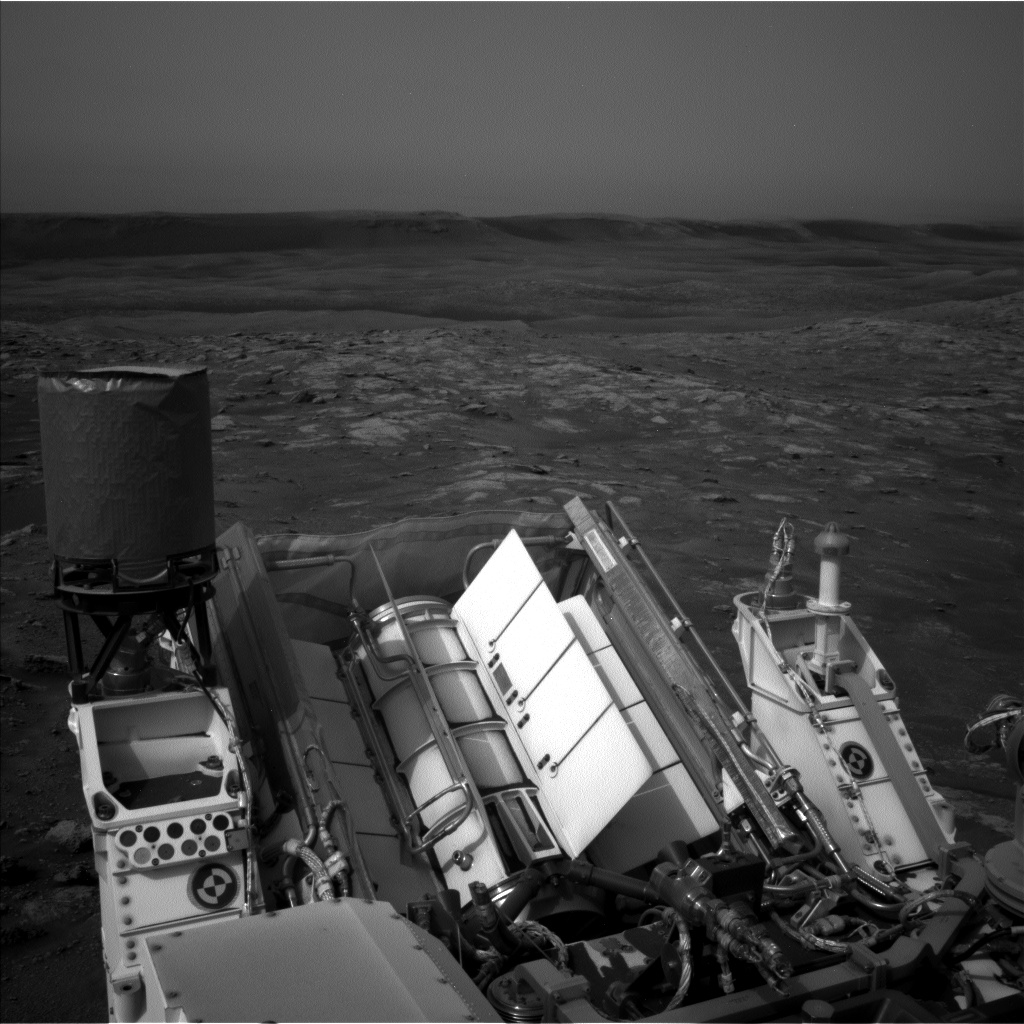 Nasa's Mars rover Curiosity acquired this image using its Left Navigation Camera on Sol 2816, at drive 352, site number 82