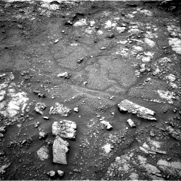 Nasa's Mars rover Curiosity acquired this image using its Right Navigation Camera on Sol 2816, at drive 72, site number 82