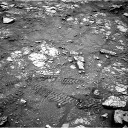 Nasa's Mars rover Curiosity acquired this image using its Right Navigation Camera on Sol 2816, at drive 84, site number 82