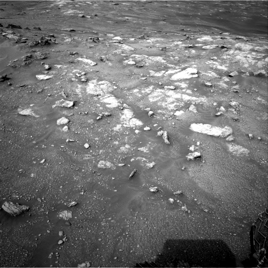 Nasa's Mars rover Curiosity acquired this image using its Right Navigation Camera on Sol 2816, at drive 318, site number 82
